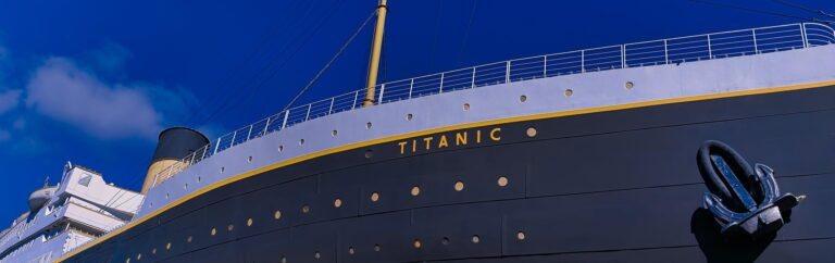Boeg Titanic